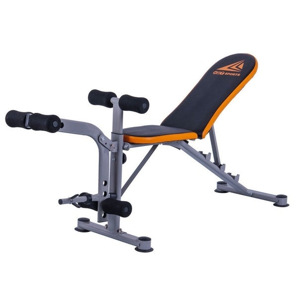MGT-4305S Home Foldable Adjustable Flat Incline Decline Dumbbell Weight Bench