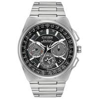 Citizen Men's Eco-Drive Black Dial Titanium Watch