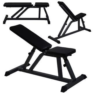 BM-519 Adjustable Dumbbell Fitness Bench Black