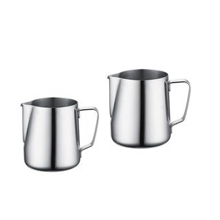 Prime Cook Stainless Steel 2 Piece Milk Frothing Steaming Pitcher