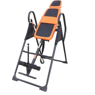Routine Fitness Equipment Steel Inversion Machine B Type Black & Orange