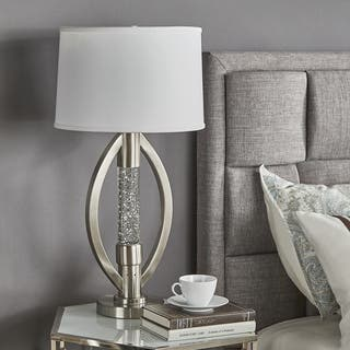 Ellipse Sparkling Nickel Finish Table Lamp by iNSPIRE Q Bold|https://ak1.ostkcdn.com/images/products/16496815/P22835678.jpg?impolicy=medium