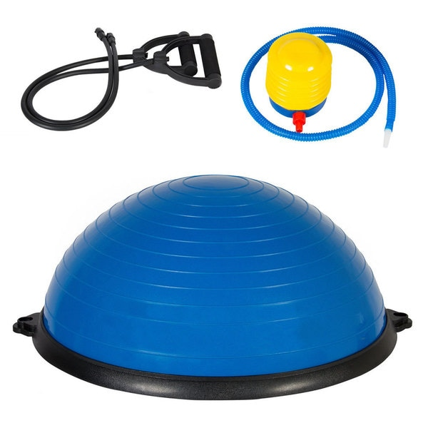 Physical Exercise Ball Balanced Hemisphere Blue