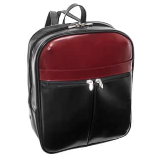 McKlein USA Edison Colorblock Leather 15-inch Laptop Backpack|https://ak1.ostkcdn.com/images/products/16496868/P22835717.jpg?impolicy=medium