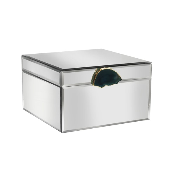 Agate Mirror Jewelry Box