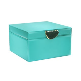 Agate Green Jewelry Box