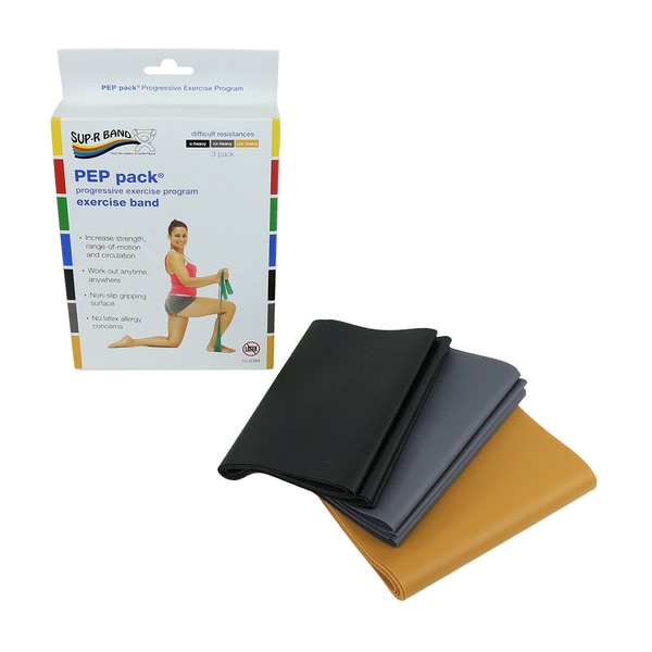 Sup-R Band® Latex Free Exercise Band - PEP pack®. Opens flyout.