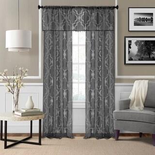 Elrene Montego Semi-sheer Curtain Panel