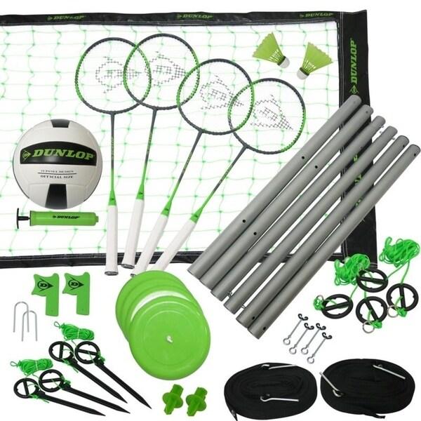 Dunlop Badminton & Volleyball Combo