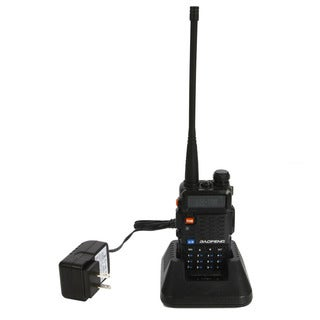 UV-F8+ Dual-frequency Dual-display Dual-waiting Dual-section Ultra Long Distance Walkie Talkie US Standard Black