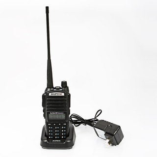 Baofeng UV82 Dual Band Dual Standby Dual Display 5W Handheld Two Way Radio Walkie Talkie Black