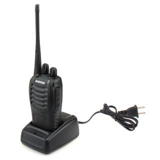 BaoFeng BF-888S 5W 400-470MHz Handheld Walkie Talkie/Interphone Black
