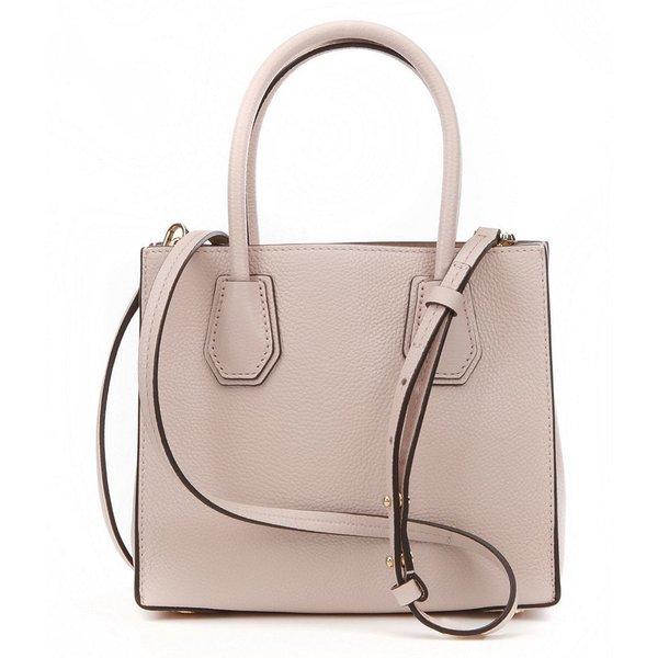 Shop Michael Kors Kors Studio Mercer Soft Pink Leather