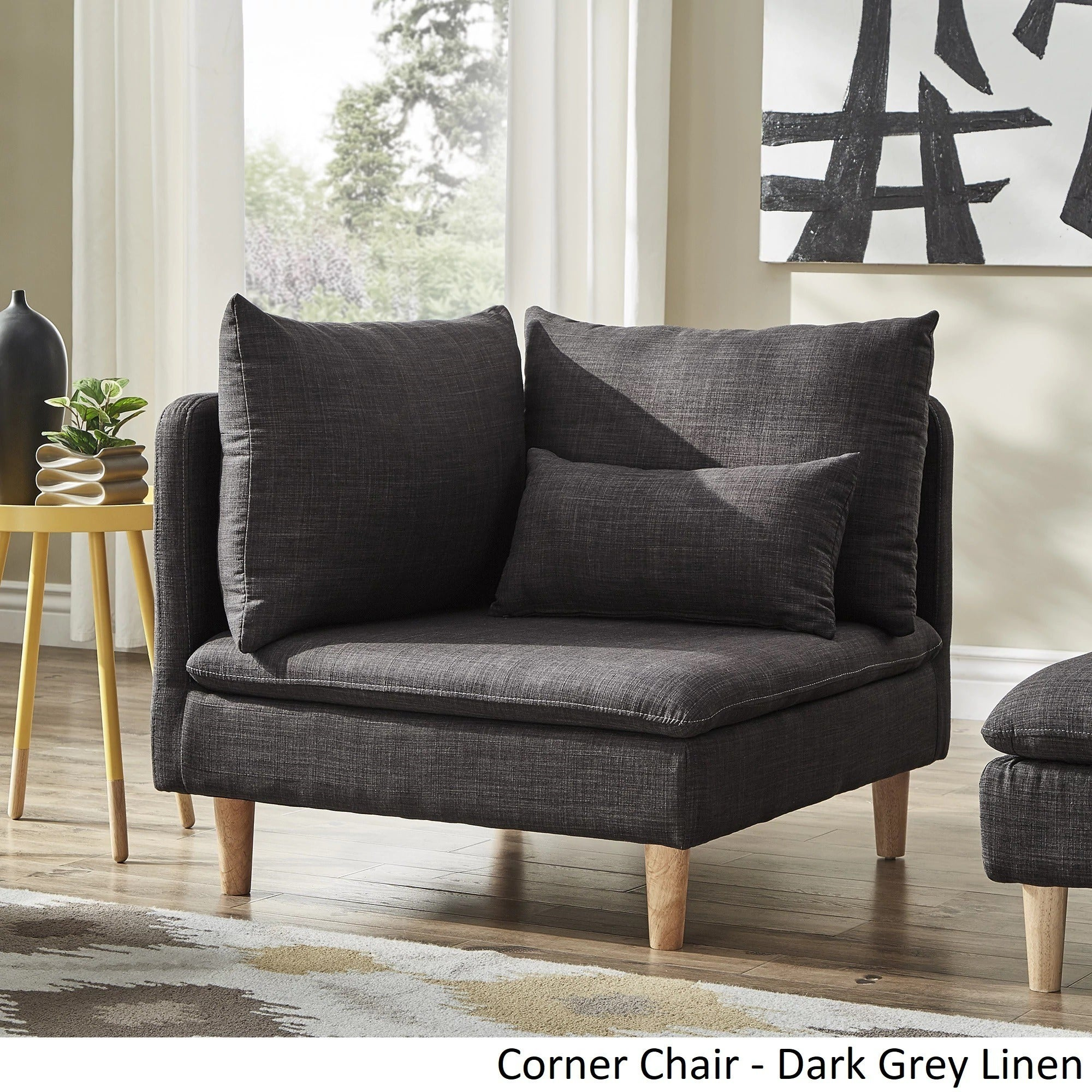 Malina Modular Mid Century Chair And Ottoman By Inspire Q Modern