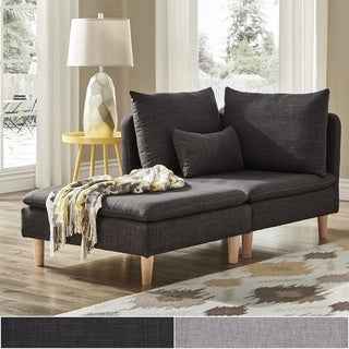 studio living room furniture. Malina Modular Mid-Century Chair And Ottoman By INSPIRE Q Modern Studio Living Room Furniture