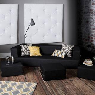 Jaxx Zipline Denim California King Convertible Sleeper Sofa and Ottomans|https://ak1.ostkcdn.com/images/products/16497934/P22836672.jpg?impolicy=medium