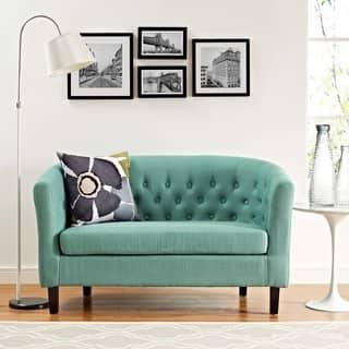 living room loveseat. Modway Prospect Fabric Loveseat Living Room Furniture For Less  Overstock com