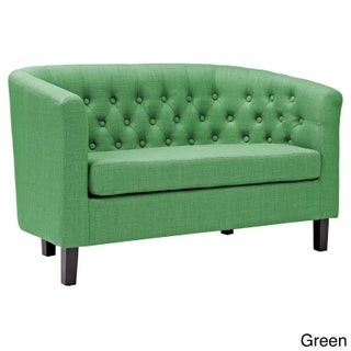 Porch & Den Silver Lake Allesandro Upholstered Loveseat (Option: Green)