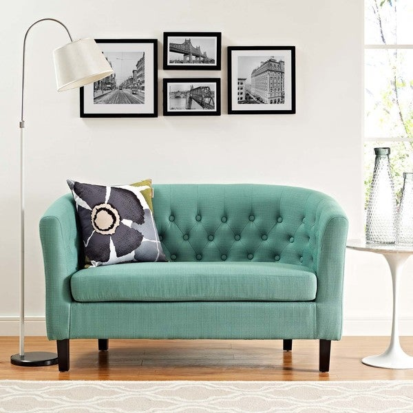 Silver Orchid Greta Upholstered Loveseat