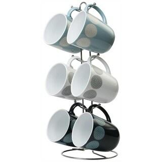 Wee's Beyond Circle 12oz Coffee Mug - Set of 6