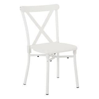 X-Back Guest Stacking Chair with Plastic Seat, 2-pack
