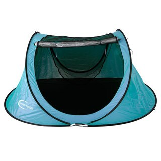 Outdoor Waterproof UV-proof 3-4 Person Camping Tent in Lake Blue