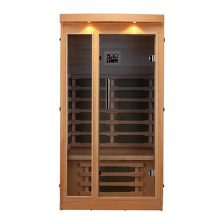 Chilliwack 1-Person FIR Sauna with 6 Carbon Far Infrared Heaters