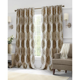 Softline Hillston Cream Medallion Curtain Panel