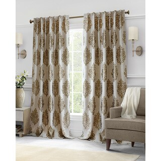 Softline Hillston Cream Medallion Curtain Panel