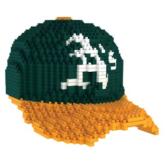 Oakland Athletics MLB 3D BRXLZ Mini Cap