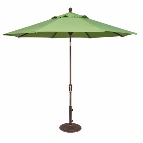 9 Foot Tilt and Crank Octagon O'Bravia Umbrella - Bar Height