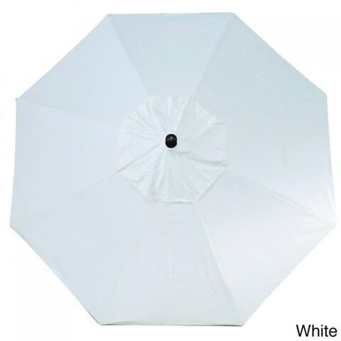 O'Bravia 9' Tilt and Crank Octagon Umbrella, Base Not Included