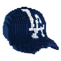 Los Angeles Dodgers MLB 3D BRXLZ Mini Cap - Blue/White