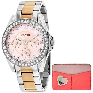 Fossil Women's ES4249SET Riley Watches
