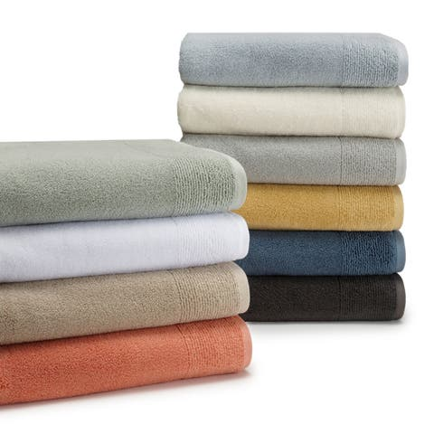 Rayon from Bamboo 6-Piece Towel Collection (2-Bath, 2-Hand, 2-Wash)