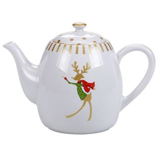 Certified International Gold Dancing Reindeer Teapot 40 oz.|https://ak1.ostkcdn.com/images/products/16498286/P22836990.jpg?impolicy=medium