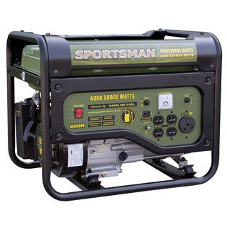 Sportsman Gasoline 4000 Watt Portable Generator - CARB Approved