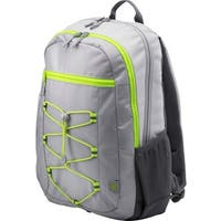 """HP Active Carrying Case (Backpack) for 15.6"""" Notebook - Gray, Neon Gr"""