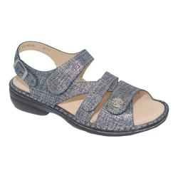 ever popular dirt cheap new lower prices Women's Finn Comfort Gomera Soft Argento Glitter Nappa Leather |  Overstock.com Shopping - The Best Deals on Sandals
