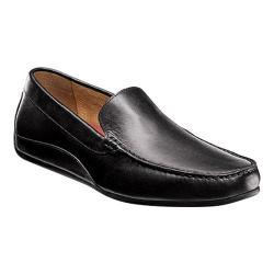 Men's Florsheim Oval Venetian Driving Moc Black Full Grain Leather