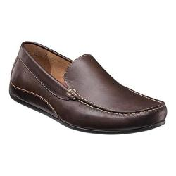 Men's Florsheim Oval Venetian Driving Moc Brown Full Grain Leather
