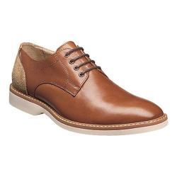Men's Florsheim Union Plain Toe Oxford Cognac Full Grain Leather/Suede