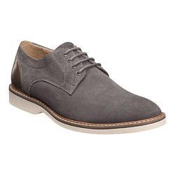 Men's Florsheim Union Plain Toe Oxford Gray Full Grain Leather/Suede