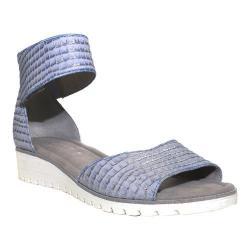 Women's Gabor 64-570 Ankle Strap Sandal Aquamarine Leather