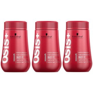 Schwarzkopf OSiS+ Dust It 0.35-ounce Mattifying Powder (Pack of 3)