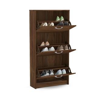 Boahaus Brown 3-drawer Shoe Organizer