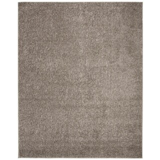Safavieh New York Shag Casual Solid Grey Area Rug (8' x 10')