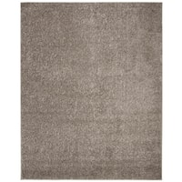 Safavieh New York Shag Casual Solid Grey Area Rug - 8' x 10'