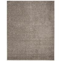 Safavieh New York Shag Casual Solid Grey Area Rug - 9' x 12'