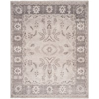 Safavieh Oushak Traditional Oriental Hand-Knotted Wool Beige Area Rug (9' x 12')